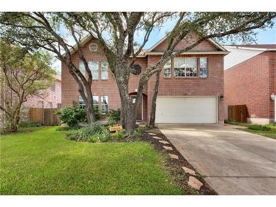 Cedar Park TX Single Family Home For Sale: $364,750