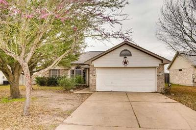 Hutto Single Family Home Pending - Taking Backups: 303 Clarks Way