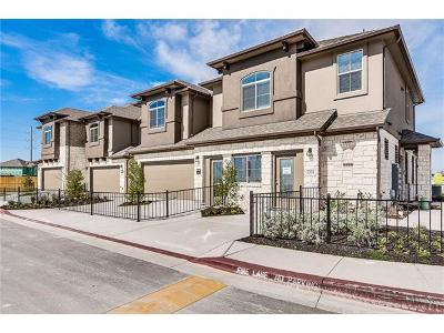Round Rock Condo/Townhouse For Sale: 2880 Donnell Dr #903