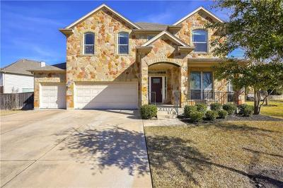 Round Rock Single Family Home For Sale: 4105 Green Vista Pl