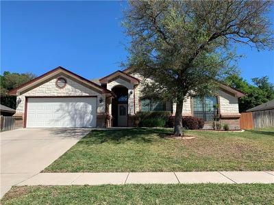 Killeen Single Family Home For Sale: 6105 Marble Falls Dr