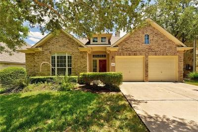 Austin Single Family Home For Sale: 1005 Cavalry Ride Trl