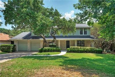 Austin Single Family Home For Sale: 11013 Oak View Dr