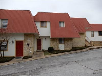 Marble Falls Condo/Townhouse Pending - Taking Backups: 1201 Fm 1431 #6
