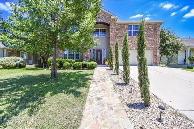 Round Rock Single Family Home For Sale: 122 Justin Leonard Dr