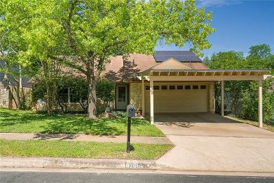 Hays County, Travis County, Williamson County Single Family Home Pending - Taking Backups: 8200 Beaconcrest Dr