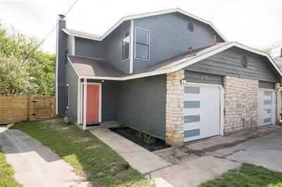 Round Rock Multi Family Home For Sale: 413 Parkhill Cv