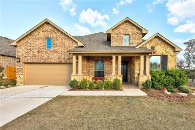 Lago Vista Single Family Home For Sale: 7613 Turnback Ledge Trl