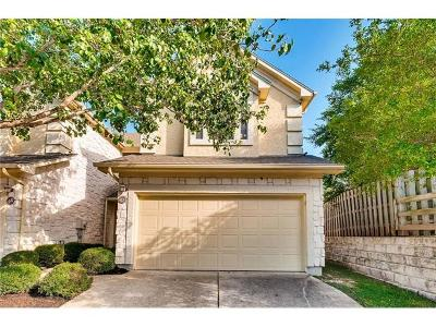 Round Rock Condo/Townhouse For Sale: 3300 Forest Creek Dr #47