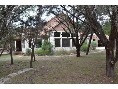 Liberty Hill Single Family Home For Sale: 616 Blessing Ranch Rd