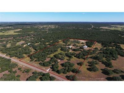 Lampasas Single Family Home For Sale: 121 Antler Ln