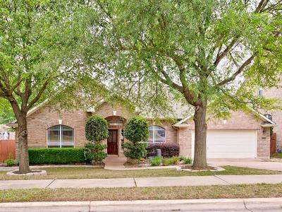Cedar Park Single Family Home For Sale: 2503 Tivoli Dr