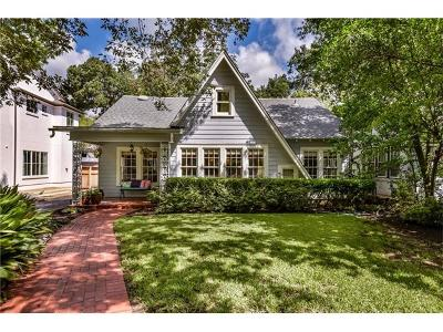 Hays County, Travis County, Williamson County Single Family Home For Sale: 1402 Northwood Rd