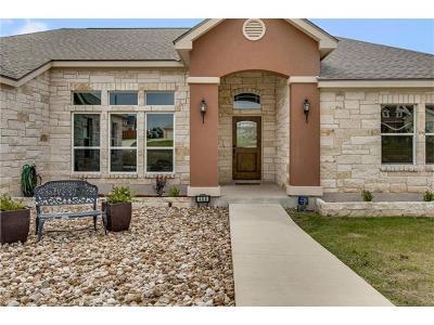 Buda Single Family Home For Sale: 468 Woodbrook Trl