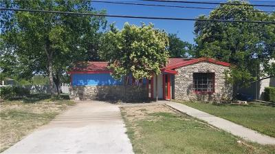 Burnet County Single Family Home For Sale: 512 N Main St