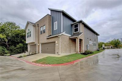 Austin Condo/Townhouse For Sale: 7507 Belfair Ter