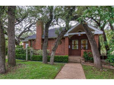 Travis Heights, travis heights, Travis Heights Condo The Amd Single Family Home For Sale: 1312 Travis Heights Blvd