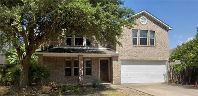 Round Rock Single Family Home For Sale: 4022 Barlow Dr