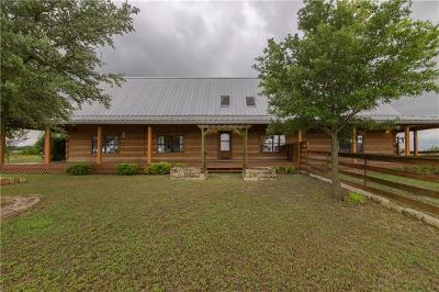 Jarrell Single Family Home For Sale: 175 County Road 3001