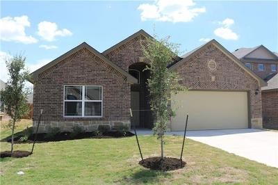 Round Rock Single Family Home For Sale: 5613 Sacco St