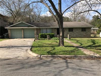 San Marcos Single Family Home For Sale: 508 Franklin Dr