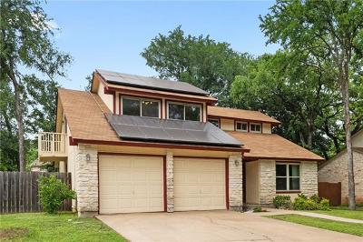 Round Rock Single Family Home For Sale: 1806 Hermitage Dr