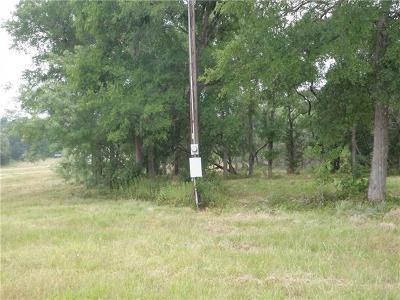 Cedar Creek Residential Lots & Land For Sale: Lot 1 Voss Pkwy