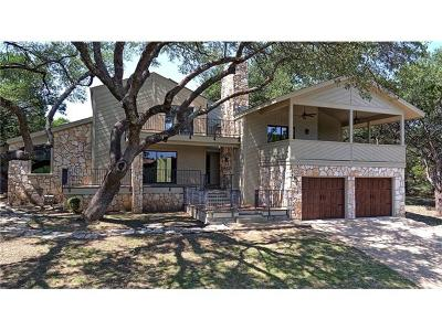 Lago Vista Single Family Home Pending - Taking Backups: 20030 Continental Dr