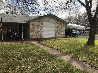Hays County, Travis County, Williamson County Single Family Home For Sale: 4811 Spring Meadow Cv