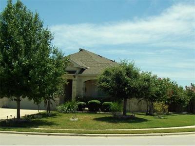 Cedar Park Single Family Home For Sale: 1800 Golden Arrow Ave