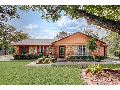 Cedar Park Single Family Home Pending - Taking Backups: 1400 Oak Grove Dr