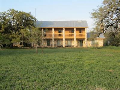 Dripping Springs Farm For Sale: 3405 McGregor Ln