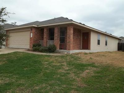 Hutto Single Family Home For Sale: 120 Easy St