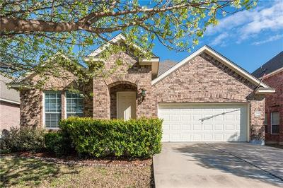 Pflugerville Single Family Home For Sale: 2840 Mission Tejas Dr