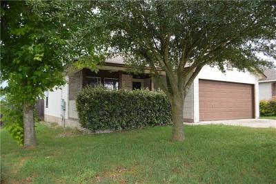 Hutto Single Family Home Pending - Taking Backups: 1004 Estate Dr