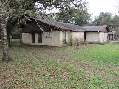 San Marcos Single Family Home For Sale: 321 Hunter Ridge Rd