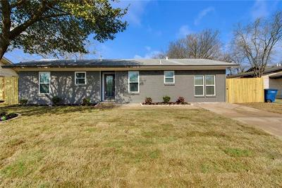 Austin Single Family Home For Sale: 8802 Redfield Ln