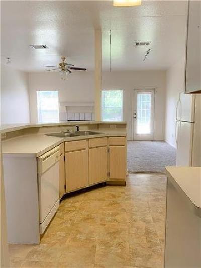 Cedar Park Rental For Rent: 903 Quartz Ct #D