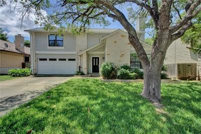 Travis County Single Family Home Pending - Taking Backups: 12714 Timberside Dr