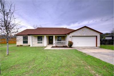 Hutto Single Family Home Pending - Taking Backups: 123 Willow Dr
