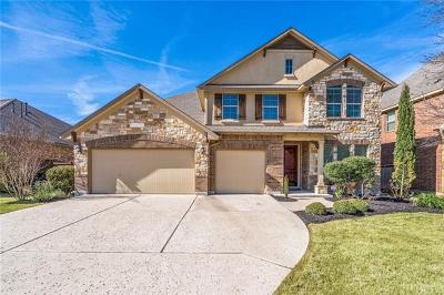 Leander Single Family Home For Sale: 3109 Wedgescale Pass