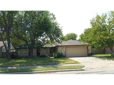 Pflugerville Single Family Home For Sale: 603 Cedar Ridge Dr