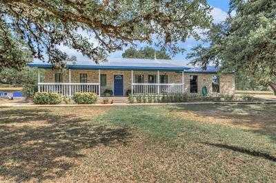 San Marcos Single Family Home For Sale: 913 Settlers Rd