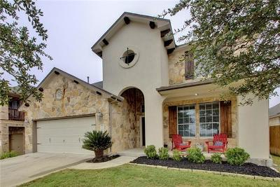 Round Rock Single Family Home For Sale: 3504 Rosalina Loop
