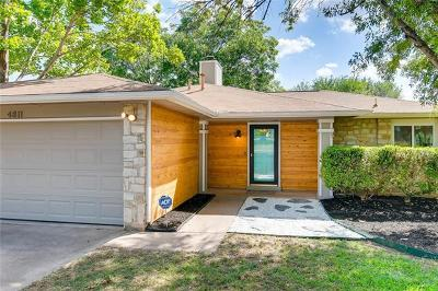 Austin Single Family Home For Sale: 4811 Ganymede Dr