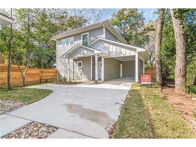 Austin Single Family Home For Sale: 1022 Linden St #B