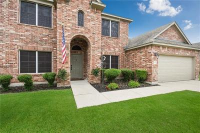 Leander Single Family Home Active Contingent: 2522 Grapevine Canyon Trl