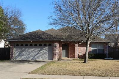 Cedar Park Single Family Home For Sale: 1408 Chalk Ln