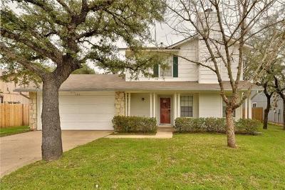 Cedar Park Single Family Home For Sale: 700 Mistywood Cir