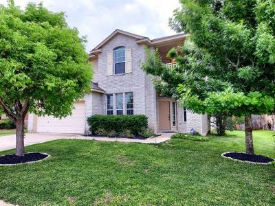 Manor Single Family Home For Sale: 11501 Sun Glass Dr